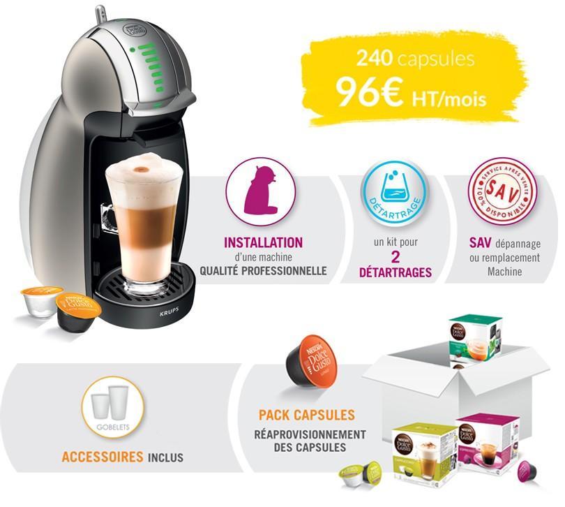 Offre machine à café Dolce gusto